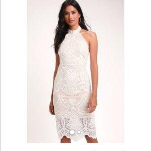 White lulus dress